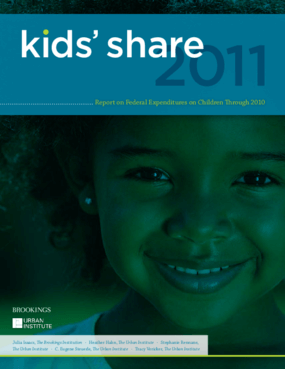 Kids' Share 2011: Report on Federal Expenditures on Children Through 2010