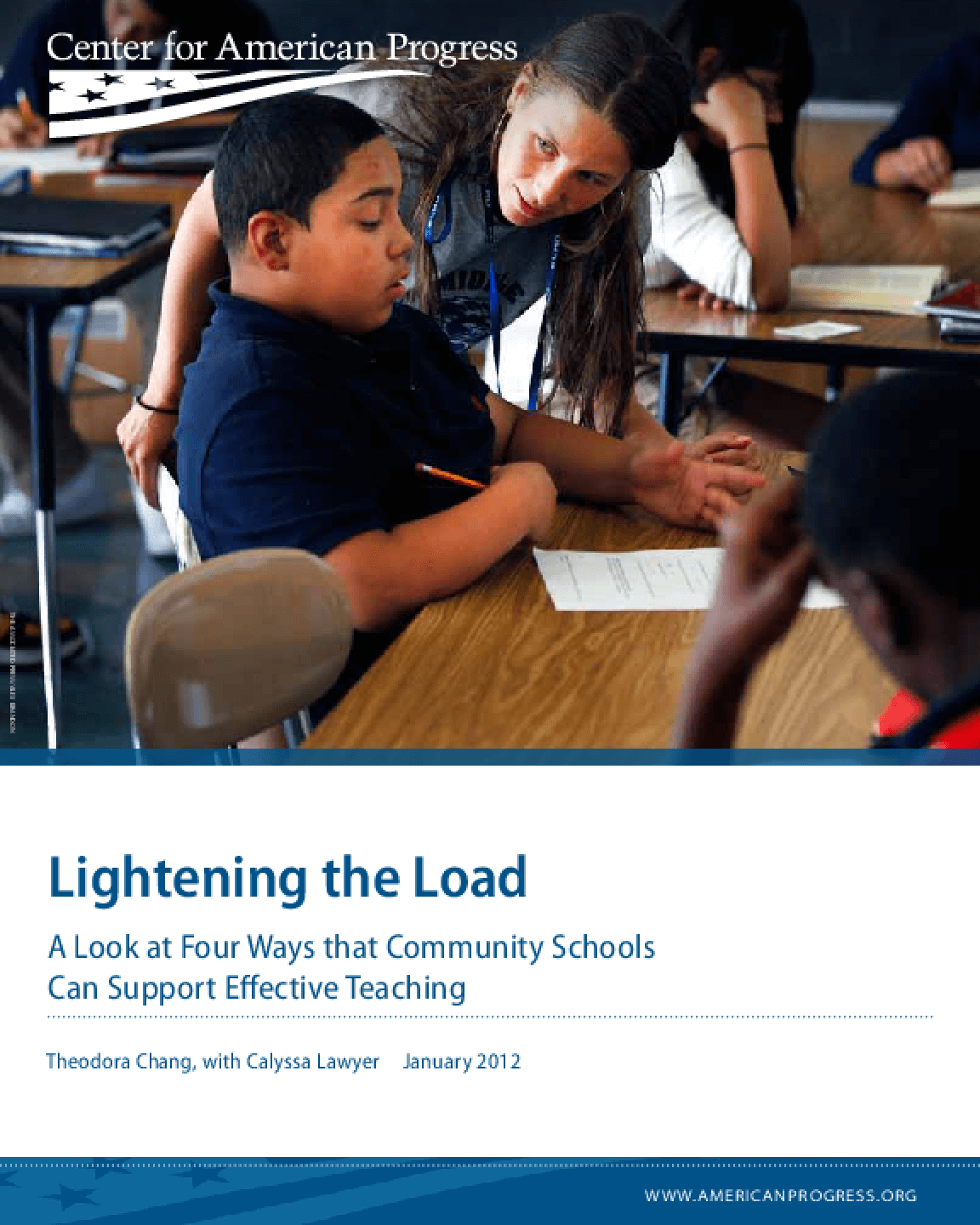 Lightening the Load: A Look at Four Ways That Community Schools Can Support Effective Teaching