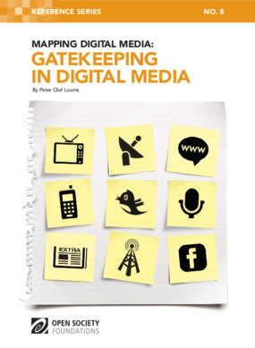 Mapping Digital Media: Gatekeeping in Digital Media