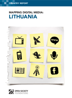Mapping Digital Media: Lithuania