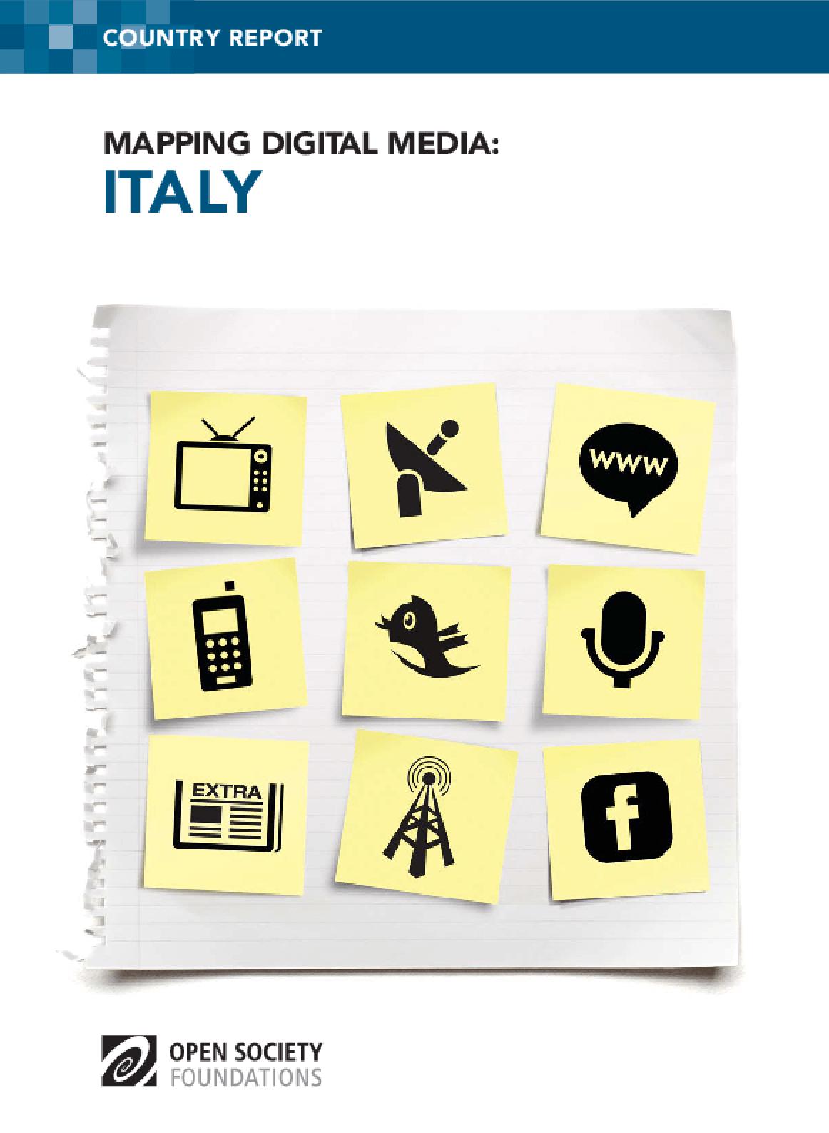 Mapping Digital Media: Italy
