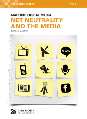 Mapping Digital Media: Net Neutrality and the Media