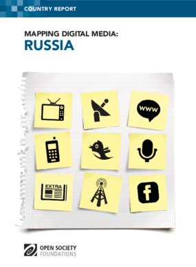 Mapping Digital Media: Russia