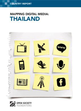 Mapping Digital Media: Thailand