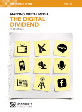 Mapping Digital Media: The Digital Dividend