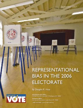 Representational Bias in the 2006 Electorate