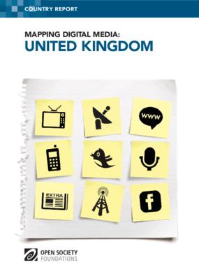 Mapping Digital Media: United Kingdom