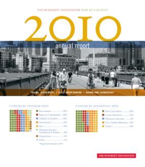 McKnight Foundation 2010 Annual Report
