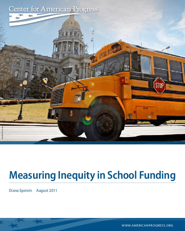 Measuring Inequity in School Funding