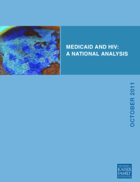 Medicaid and HIV: A National Analysis