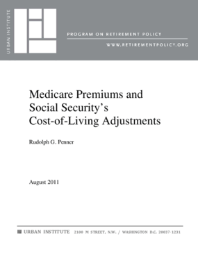Medicare Premiums and Social Security's Cost-of-Living Adjustments