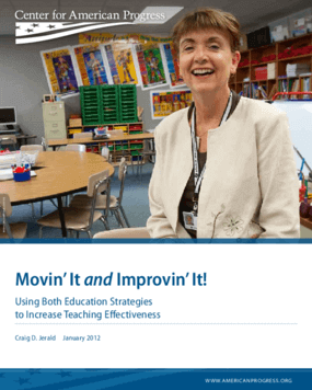 Movin' It and Improvin' It!: Using Both Education Strategies to Increase Teaching Effectiveness