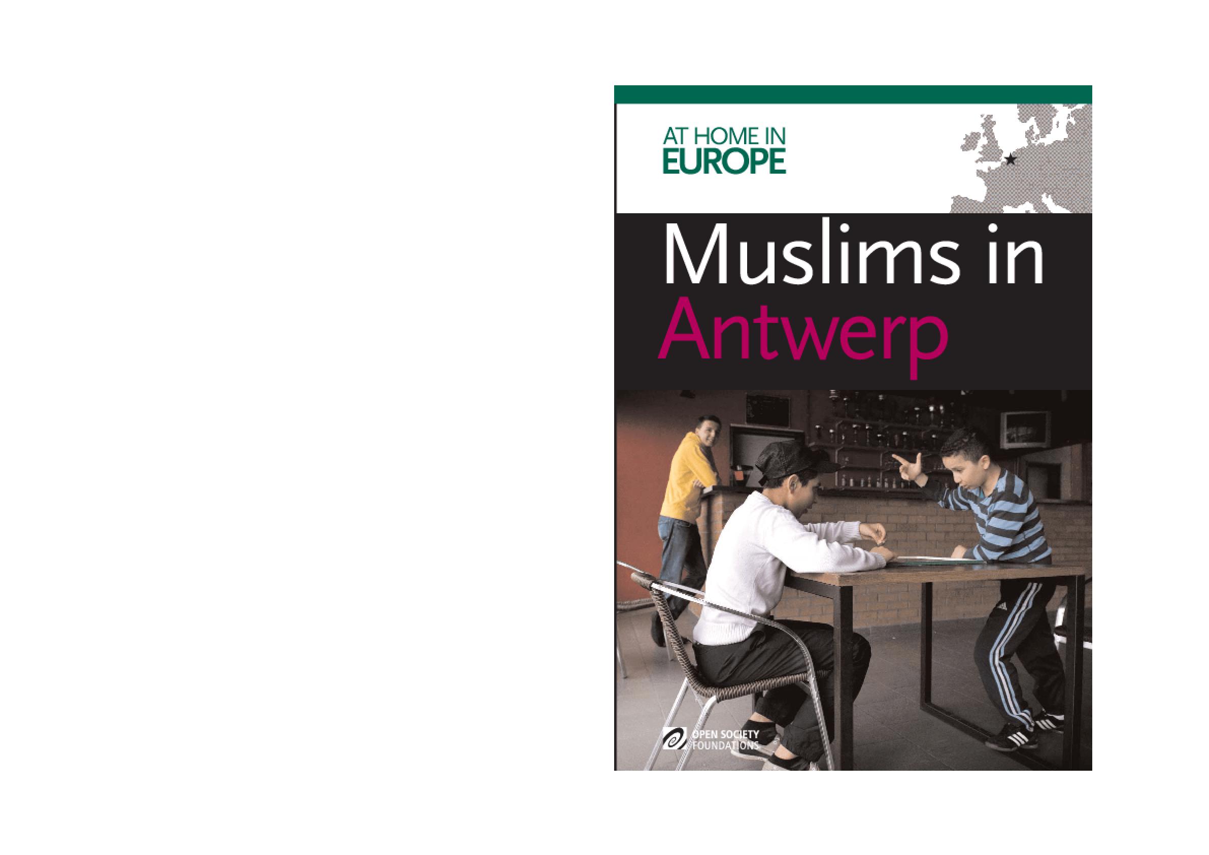 Muslims in Antwerp