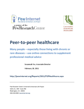 Peer-to-Peer Healthcare