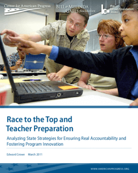 Race to the Top and Teacher Preparation: Analyzing State Strategies for Ensuring Real Accountability and Fostering Program Innovation