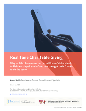 Real Time Charitable Giving