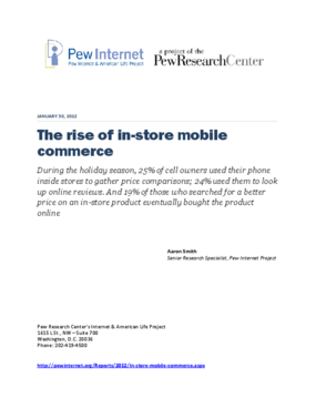 The Rise of In-Store Mobile Commerce