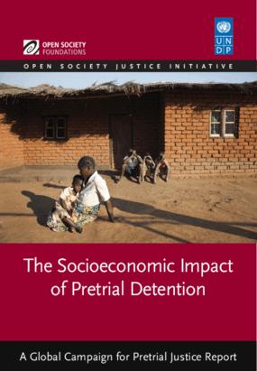The Socioeconomic Impact of Pretrial Detention