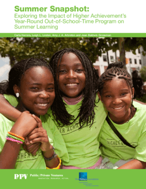 Summer Snapshot: Exploring the Impact of Higher Achievement's Year-Round Out-of-School-Time Program on Summer Learning