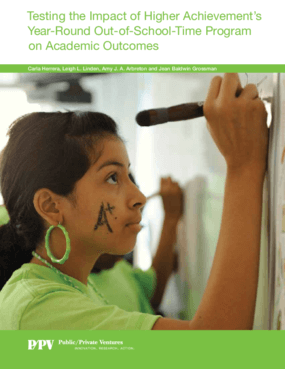 Testing the Impact of Higher Achievement's Year-Round Out-of-School-Time Program on Academic Outcomes
