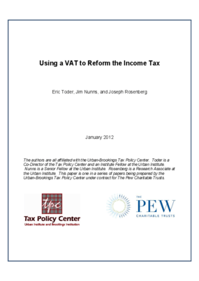 Using a VAT to Reform the Income Tax