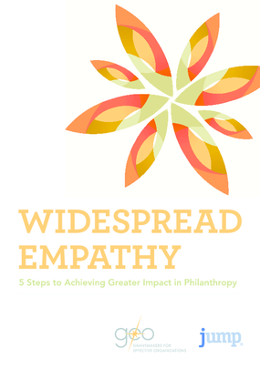 Widespread Empathy: 5 Steps to Achieving Greater Impact in Philanthropy