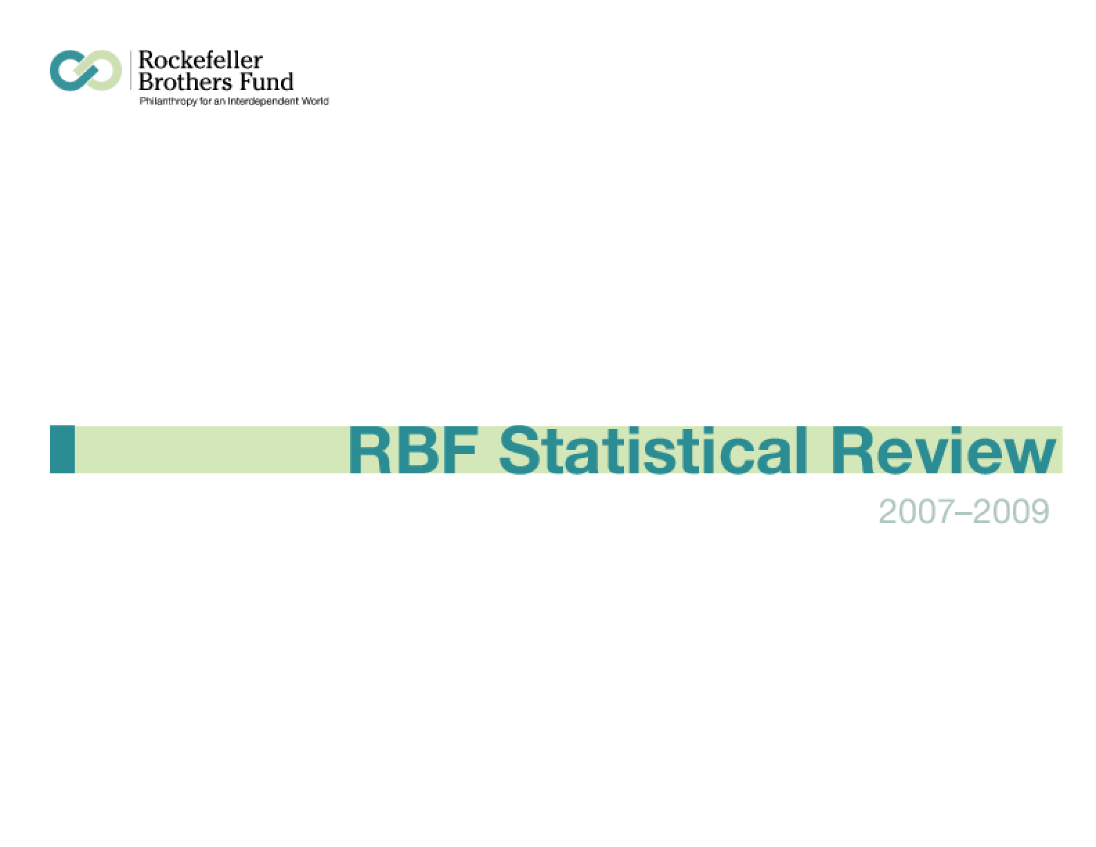 2009 Statistical Review