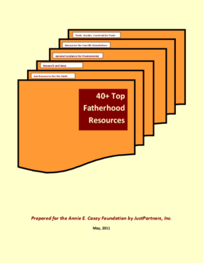 40+ Top Fatherhood Resources