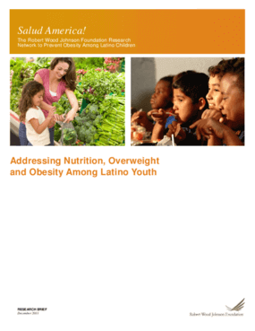 Addressing Nutrition, Overweight and Obesity Among Latino Youth