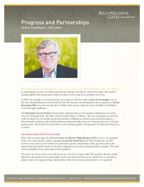 Bill & Melinda Gates Foundation 2010 Annual Report