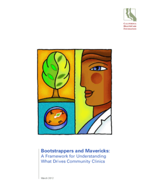 Bootstrappers and Mavericks: A Framework for Understanding What Drives Community Clinics