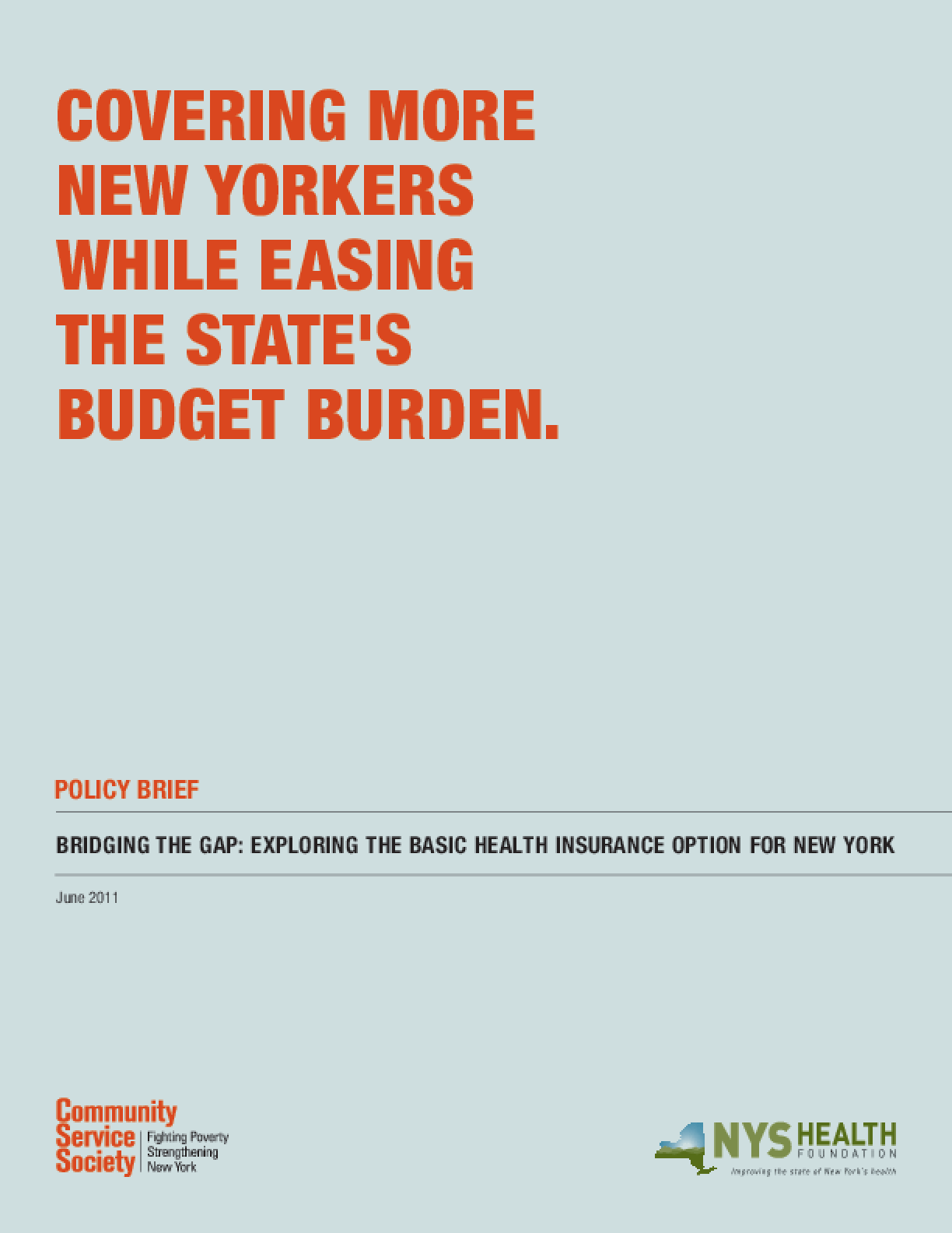 Bridging the Gap: Exploring the Basic Health Insurance Option for New York