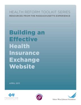 Building an Effective Health Insurance Exchange Website