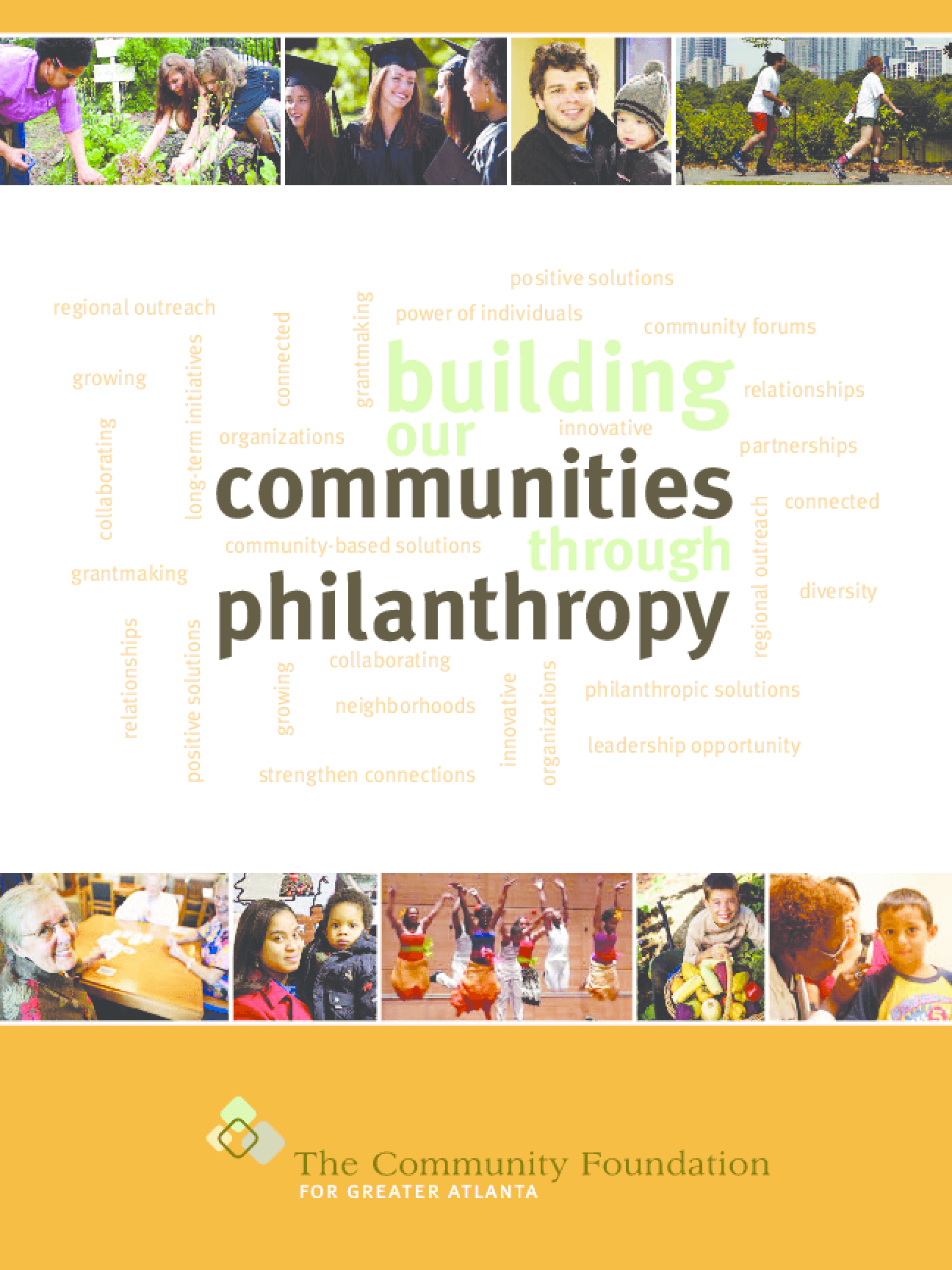Building Our Communities Through Philanthropy