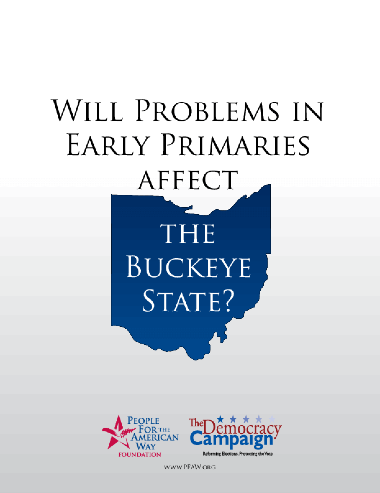 Will Problems in Early Primaries Affect the Buckeye State?