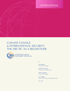 Climate Change & International Security: The Arctic as a Bellwether