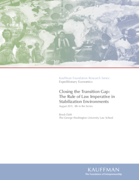 Closing the Transition Gap: The Rule of Law Imperative in Stabilization Environments