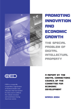 Promoting Innovation and Economic Growth: The Special Problem of Digital Intellectual Property
