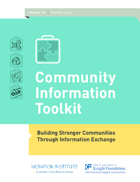 Community Information Toolkit: Building Stronger Communities Through Information Exchange