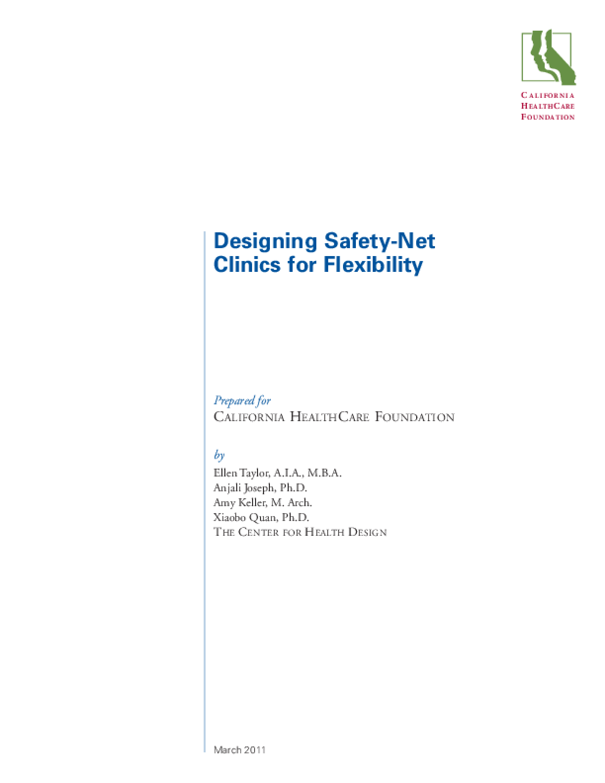 Designing Safety-Net Clinics for Flexibility