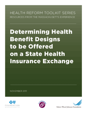 Determining Health Benefit Designs to Be Offered on a State Health Insurance Exchange