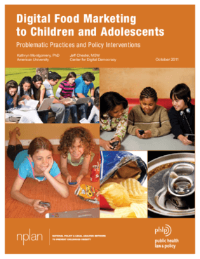 Digital Food Marketing to Children and Adolescents: Problematic Practices and Policy Interventions