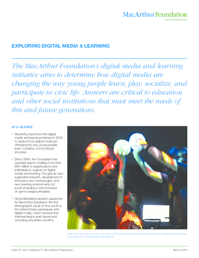 Digital Media & Learning