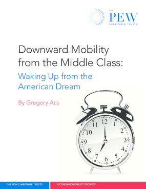 Downward Mobility From the Middle Class: Waking Up From the American Dream