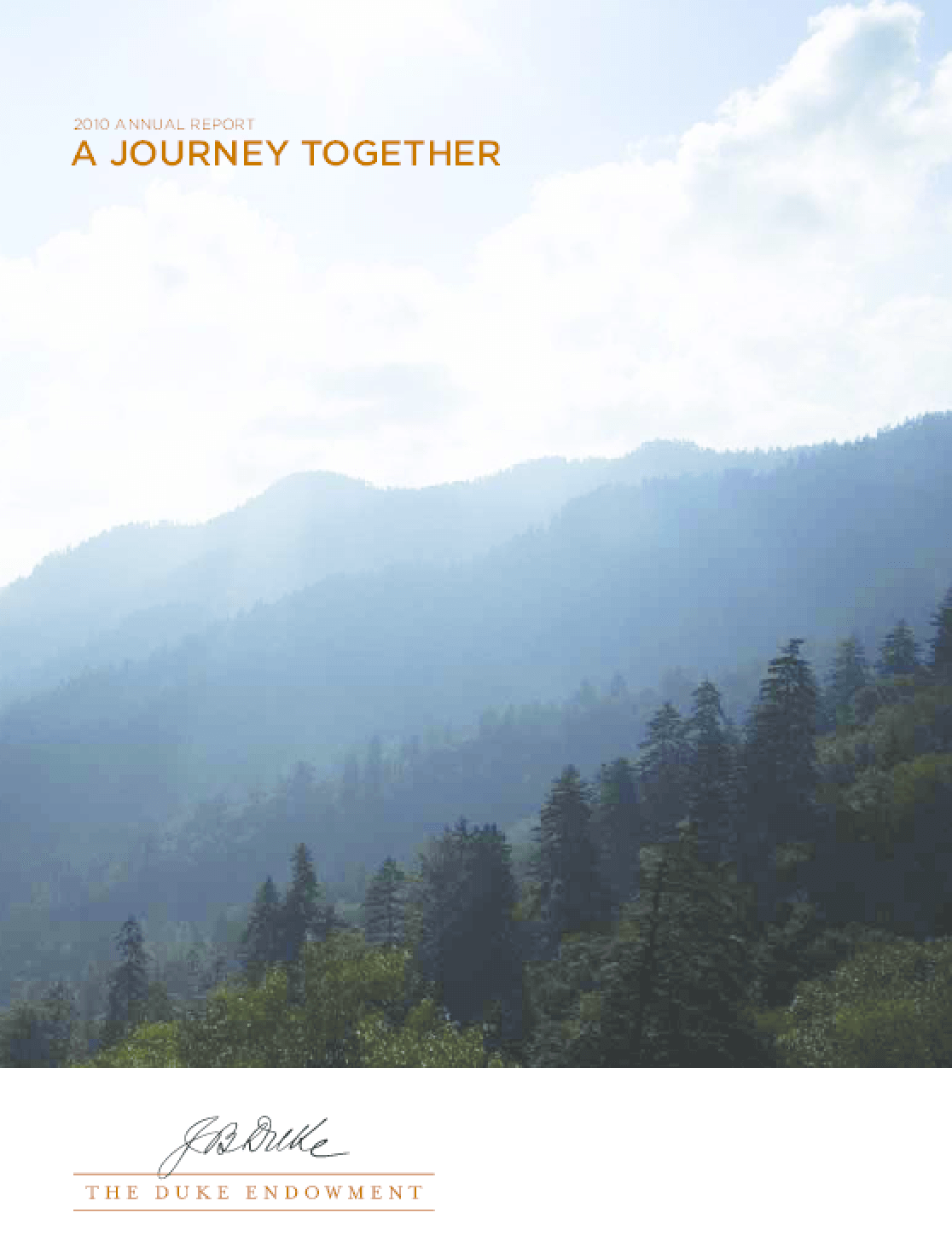 Duke Endowment 2010 Annual Report
