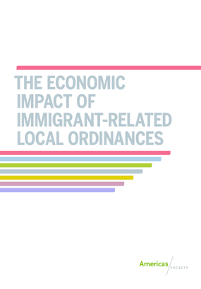 The Economic Impact of Immigrant-Related Local Ordinances