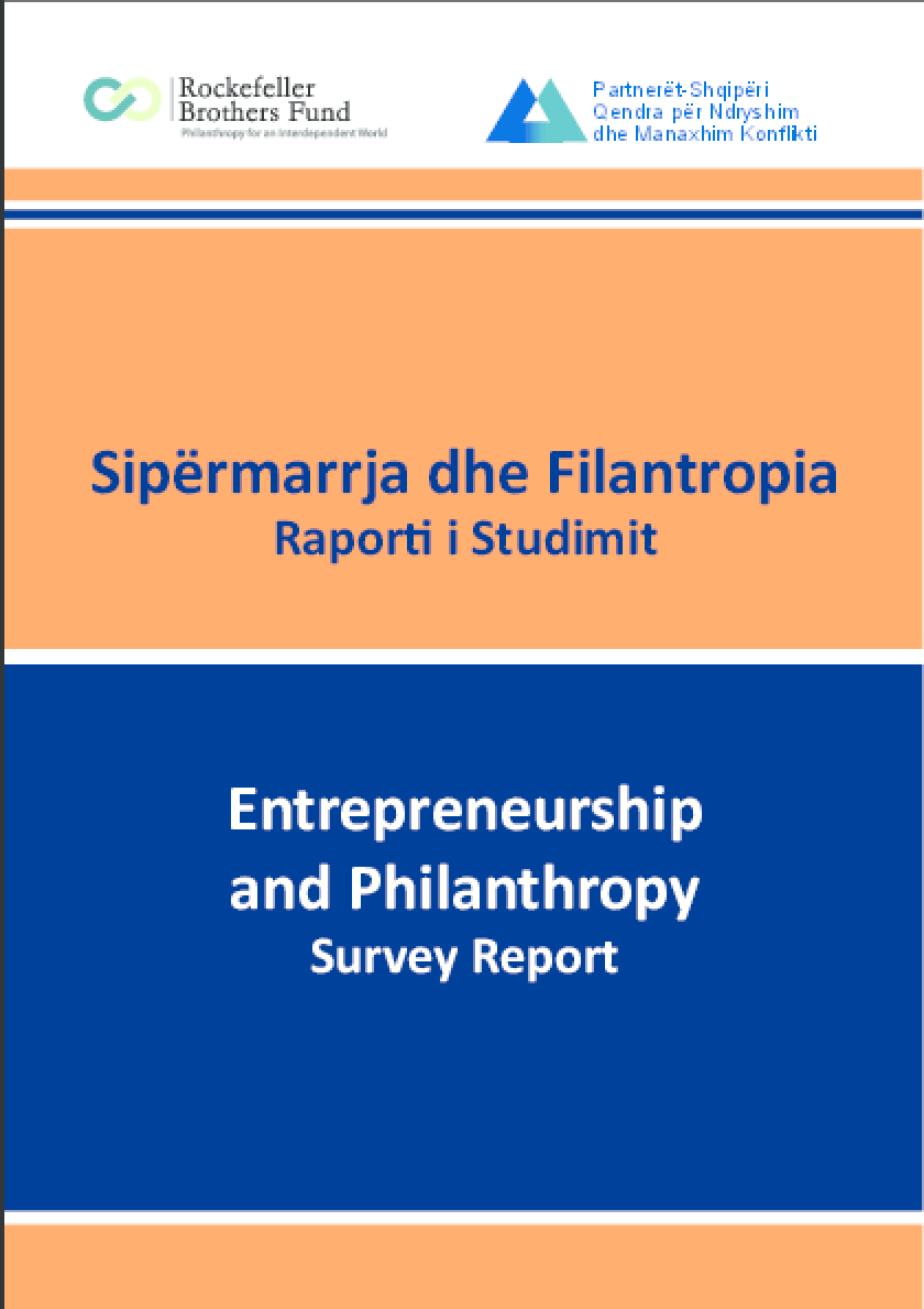 Entrepreneurship and Philanthropy Survey Report