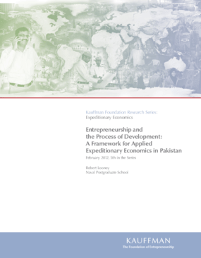 Entrepreneurship and the Process of Development: A Framework for Applied Expeditionary Economics in Pakistan