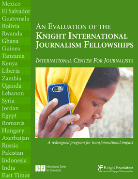An Evaluation of the Knight International Journalism Fellowships