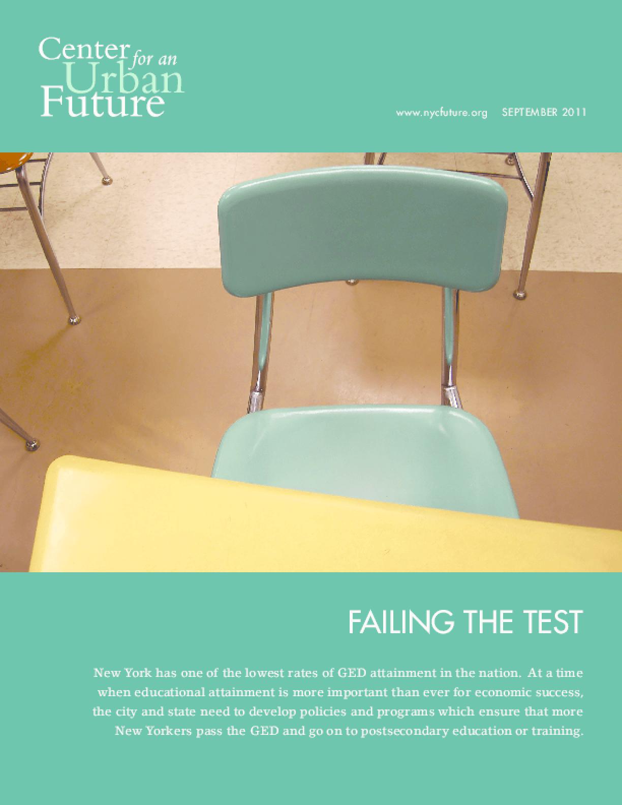 Failing the Test